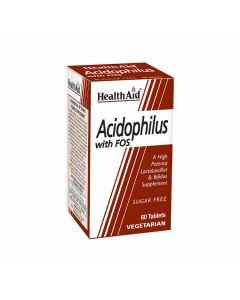 HealthAid Acidophilus with FOS - Probiotics 100 Million
