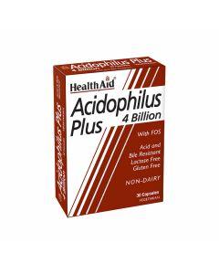 HealthAid Acidophilus Plus 4 Billion - Probiotics