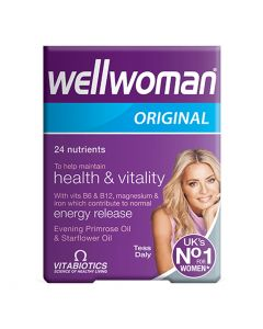 VitaBiotics - Wellwoman Original - Health Vitality & Wellbeing