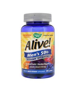 Natures Way - Alive - Men 50+ Gummy Multivitamin