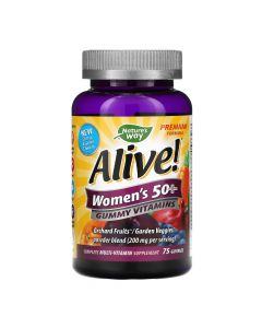 Natures Way - Alive - Women 50+ Gummy Multivitamin