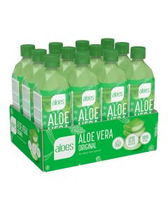 Aloes Aloevera Drink - Original - Box Of 12