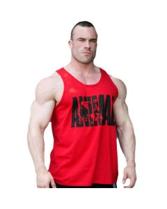 Universal Nutrition Animal Iconic Tank Top Red