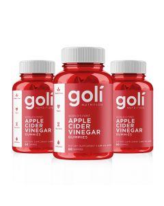 Goli Nutrition - Apple Cider Vinegar 3 Months Supply