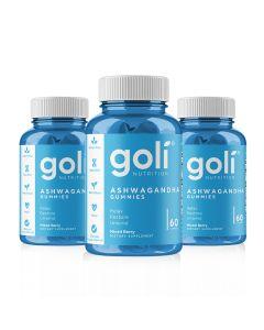 Goli Nutrition - Ashwagandha 3 Months Supply