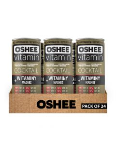 Oshee - Vitamin Cocktail - Vitamins + Mg - Box Of 24