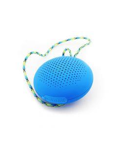 Boompods - Rockpod Bluetooth Speaker & Lanyard Blue