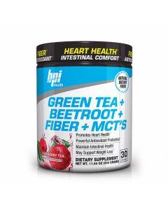 BPI Health - Green Tea + Beetroot + Fiber + MCT'S