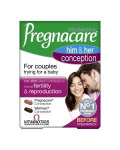 Vitabiotics Pregancare Him & Her Conception