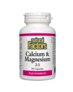 Natural Factors Calcium and Magnesium 2:1