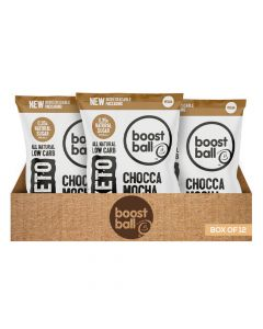 بووست بول - كرات بروتين بول - صندوق 12 قطعة