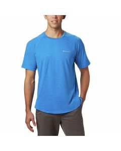Columbia - Tech Trail II Short Sleeve Crew - Azure Blue