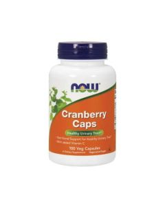NOW Cranberry Caps Healthy Urinary Tract