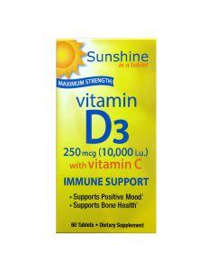 Sunshine - Vitamin D 10000 with Vitamin C