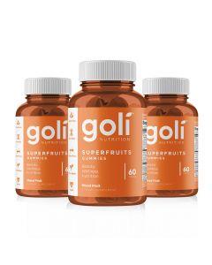 Goli Nutrition - Superfruits 3 Months Supply