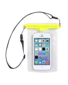 GoBag - Dolphin Self Sealing Dry Bag for All Smartphones Waterproof to 30m Yellow