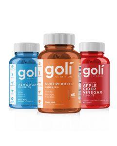 Goli Nutrition - Trio Pack