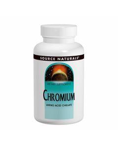 Source Naturals Chromium Amino Acid Chelate 200mcg