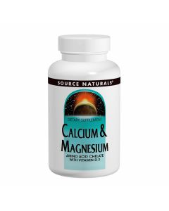 Source Naturals Calcium & Magnesium 200mg and 100mg
