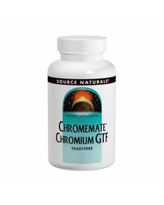Source Naturals ChromeMate Chromium GTF 200mcg