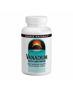 Source Naturals Vanadium with Chromium