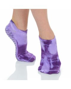 Great Soles -Tie Dyed Grip Sock - Grapevine