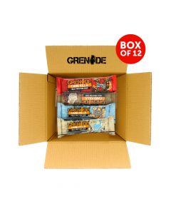 Grenade Bar Variety pack || Box Of 12