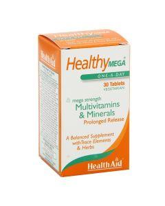 هيلث ايد - هيلثي ميغا فيتامينات متعددة ومعادن
