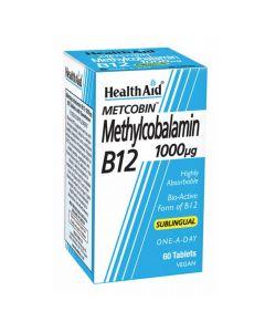 Health Aid - Methylcobalamin B12 1000ug