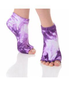 Great Soles - Half Toe Grip Sock - Grapevine