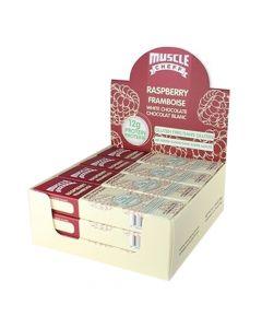 Muscle Cheff - Raspberry Framboise - White Chocolate - Box of 12