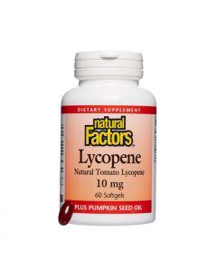 Natural Factors Lycopene 10 mg