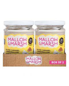 Mallow & Marsh - Salted Caramel Marshmallow Whip Box of 2