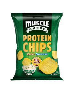 Muscle Cheff - Protein Chips - Sour Cream & Onion