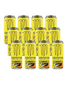 Monster Energy Drink - Rossi VR46 - The Doctor Box of 12