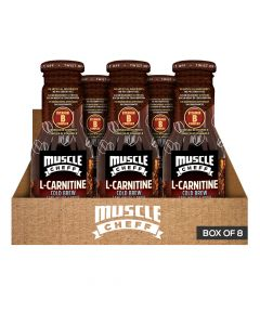 Muscle Cheff - L-Carnitine - Cold Brew Coffee - Box of 8