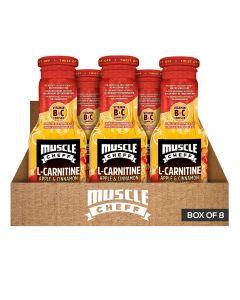 Muscle Cheff - L-Carnitine - Apple & Cinnamon Detox - Box of 8
