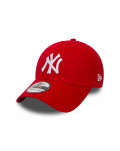 New Era - MLB League NY Ynakee Cap - Scarlet/Optic White