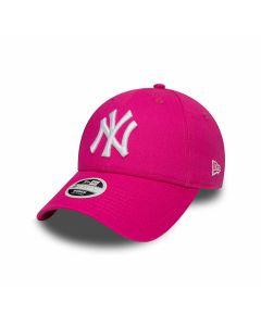 New Era - Fashion Essential NY Ynakees Cap - Pink/Optic White