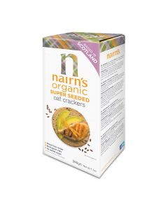 Nairn's Organic Super Seeded Oat Crackers