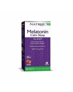 ناترول - الميلاتونين المُبتكَر لنوم هادئ 6 مغ سريع الذوبان