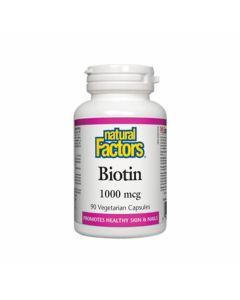 Natural Factors - Biotin 1000mcg