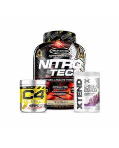 MuscleTech Nitro Tech, C4 & Xtend