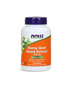 Now Horny Goat Weed Extract 750 mg