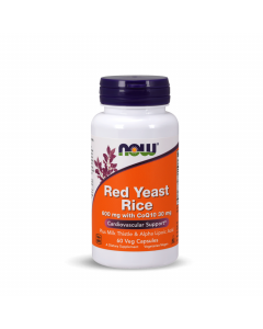 Now Red Yeast Rice 600 mg with CoQ10 30 mg