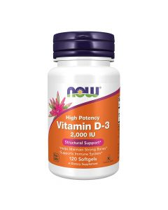 NOW Vitamin D-3 Structural Support