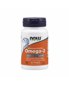 Now Omega-3 Molecularly Distilled
