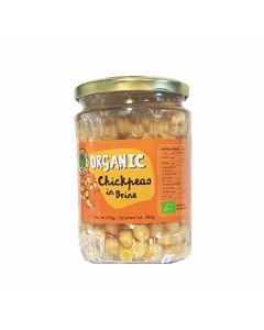Organic Larder Chickpeas in Brine