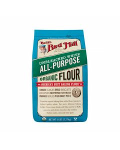 Bobs Red Mill Organic Unbleached White All Purpose Flour