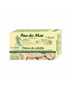 PandoMar Mackerel Fillets in Organic Olive Oil